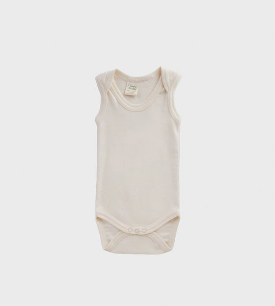 Nature Baby | Singlet Bodysuit | Natural