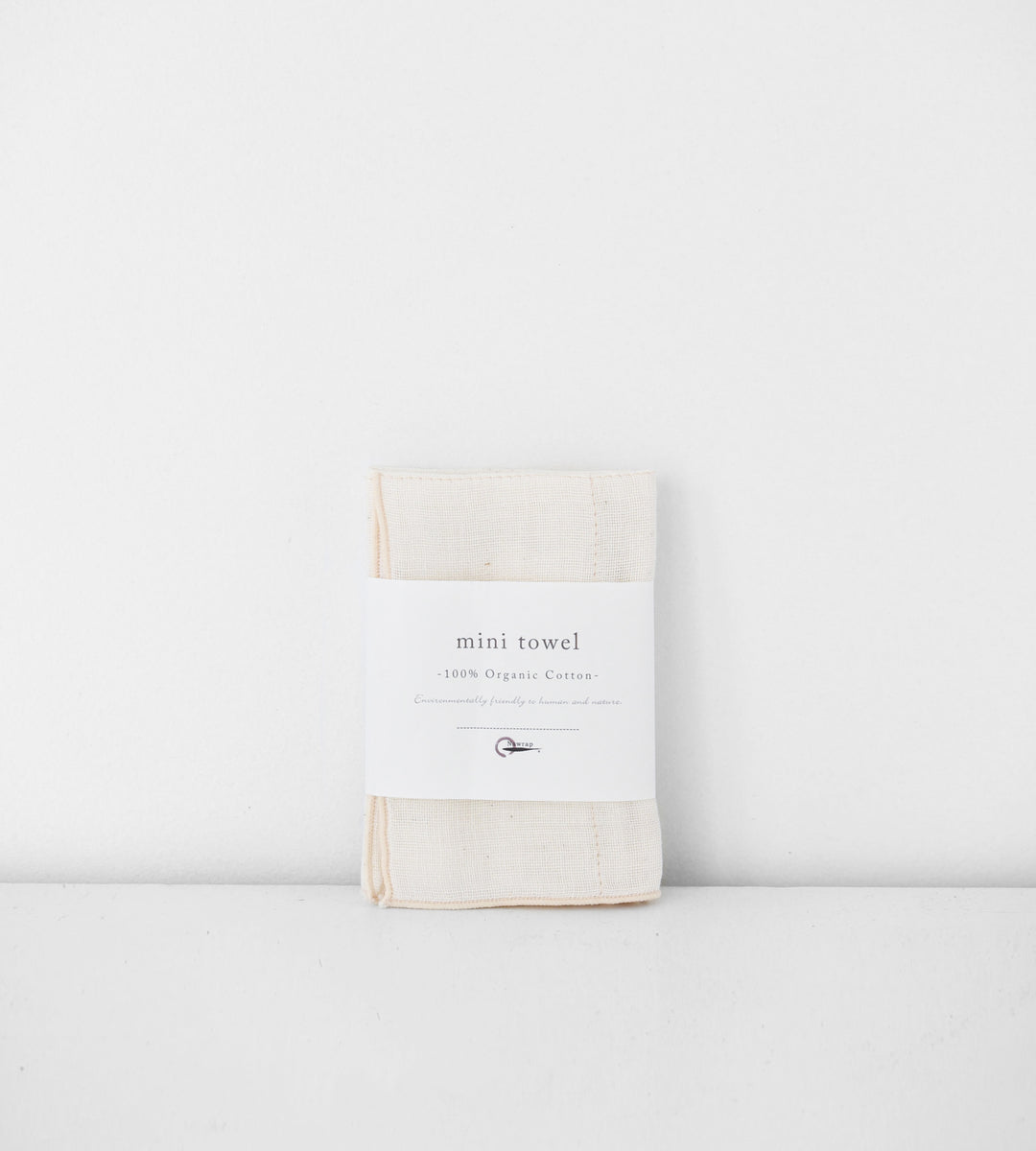 100% Organic Cotton Mini Towel | Ivory