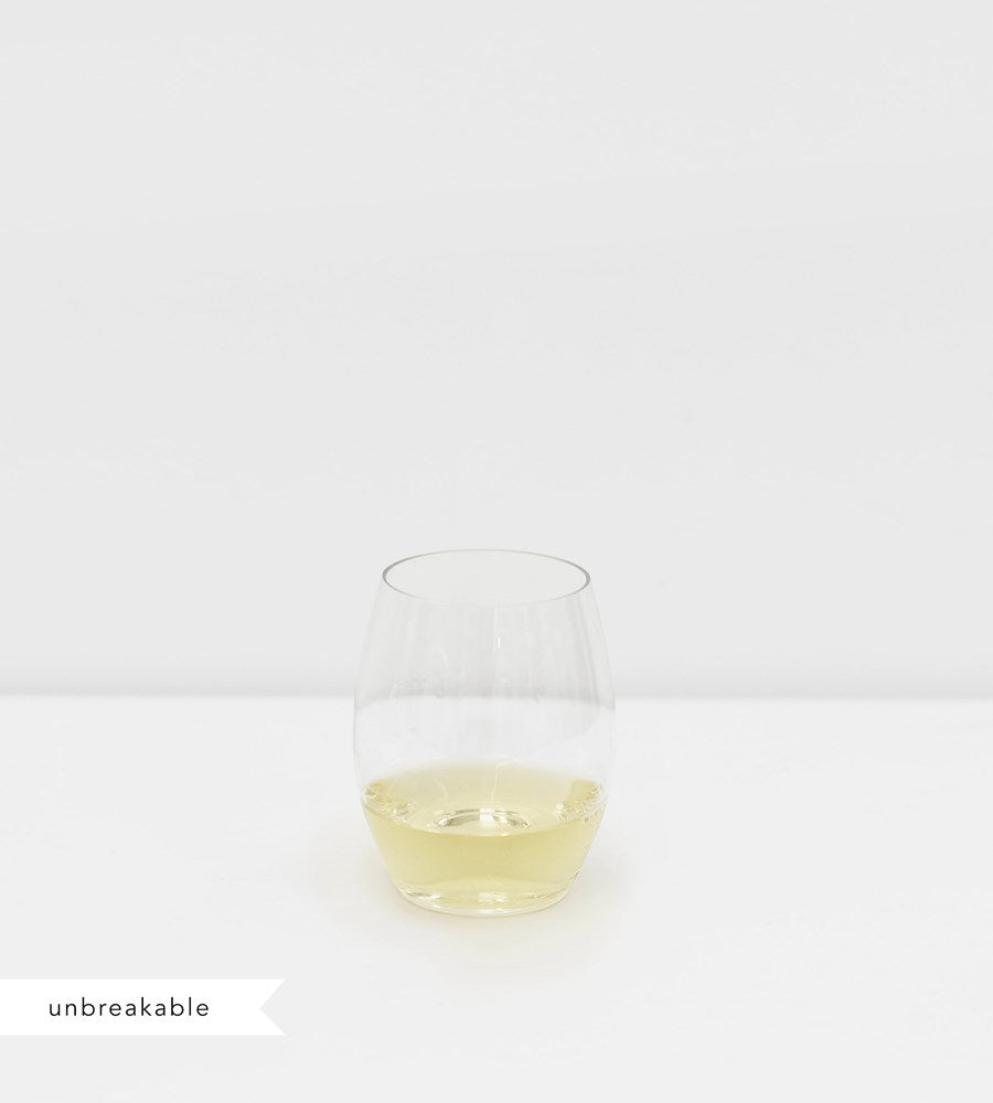 Plumm Outdoors Stemless White Wine Glass