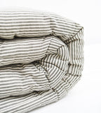 Abby Stripe Mattress | Olive Green