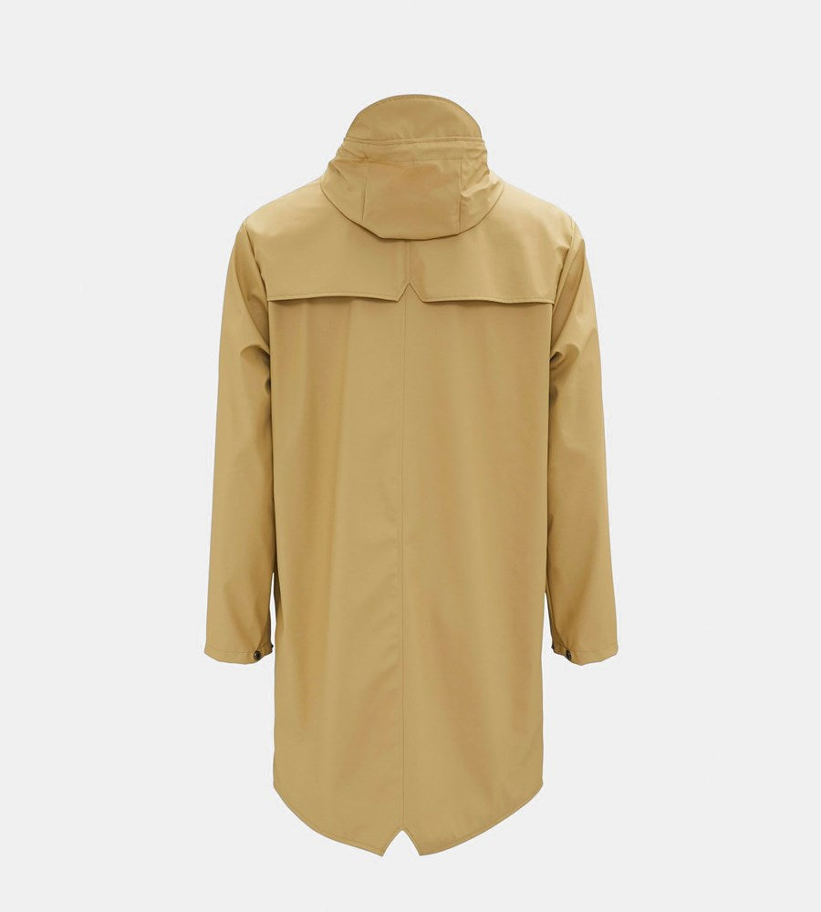 Rains Long Jacket | Desert