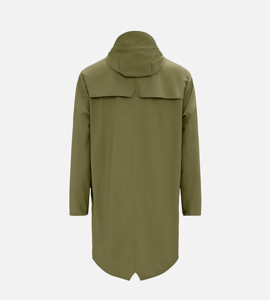 Rains Long Jacket | Sage