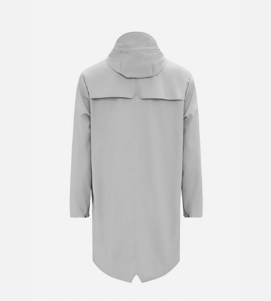 Rains Long Jacket | Stone