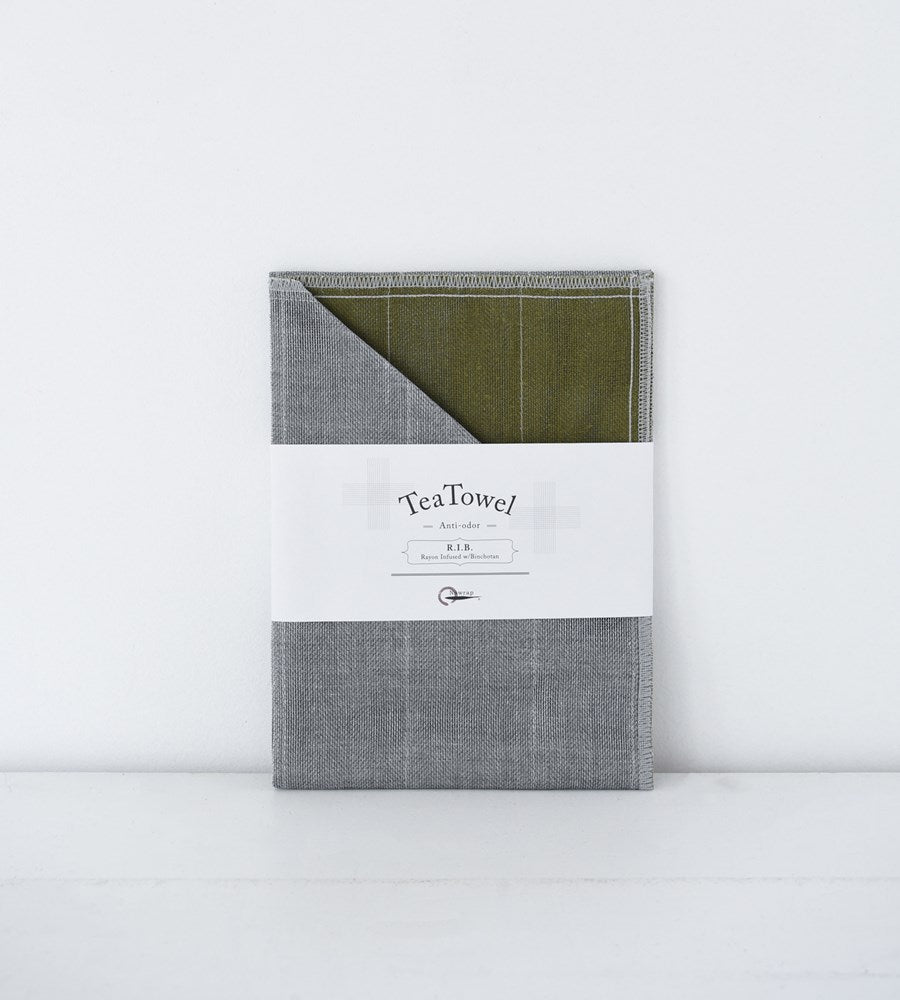 R.I.B Tea Towel | Moss Green
