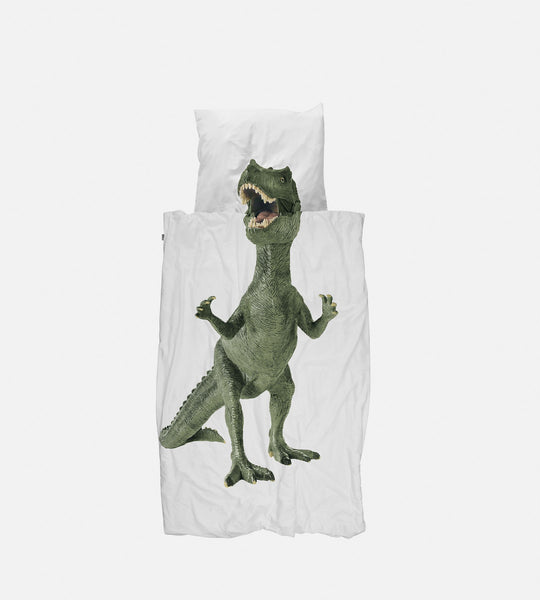 Snurk Bedding | Dinosaur Rex Duvet Cover Set
