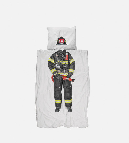 Snurk Bedding | Firefighter Duvet Cover Set