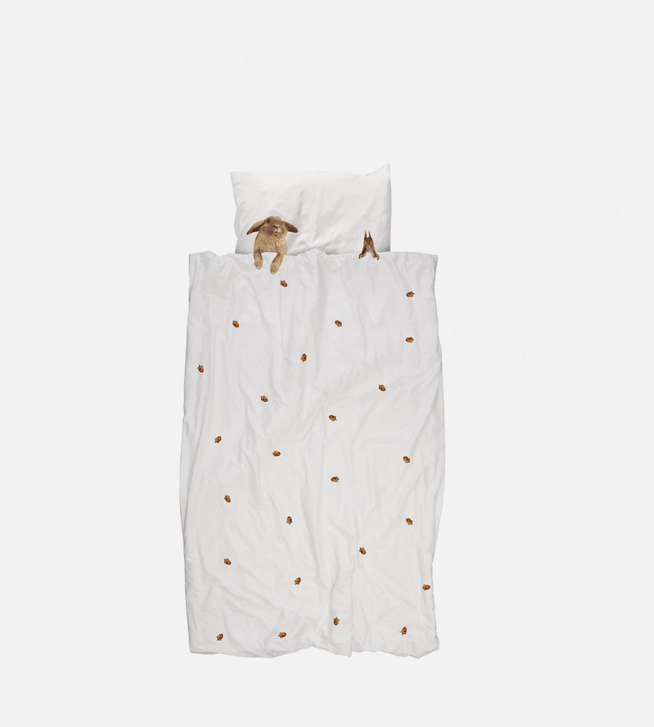 Snurk Bedding | Furry Friends Duvet Cover