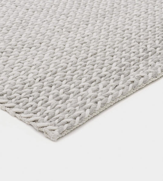 Studio Rug | Braid | Silver