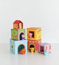 Djeco | Topanifarm | Stacking Cubes for Infants
