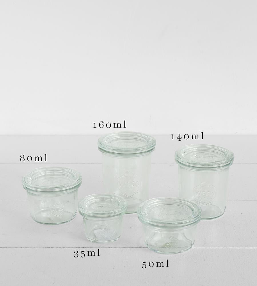 Weck Mini Mold Jar with Glass Lid
