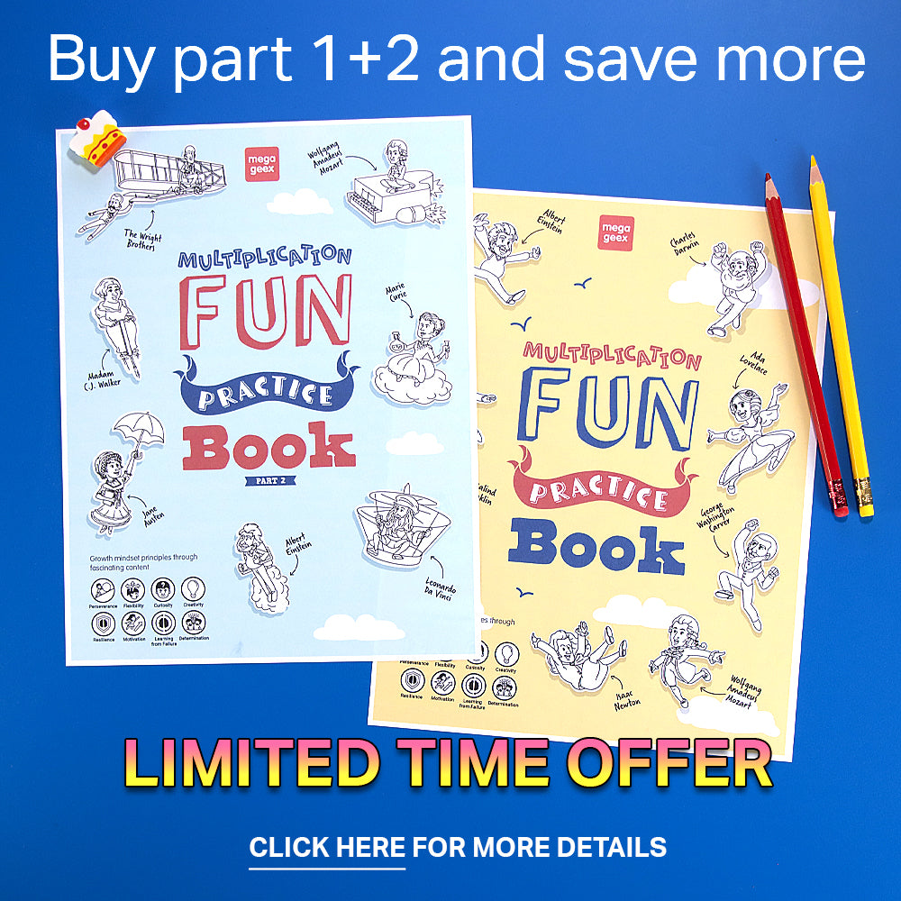 multiplication fun activity book bundle special offer
