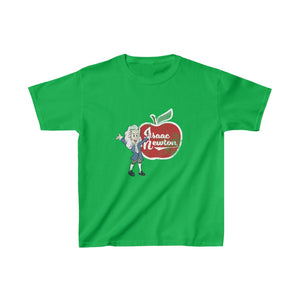 Isaac Newton Big Apple Tshirt for Kids
