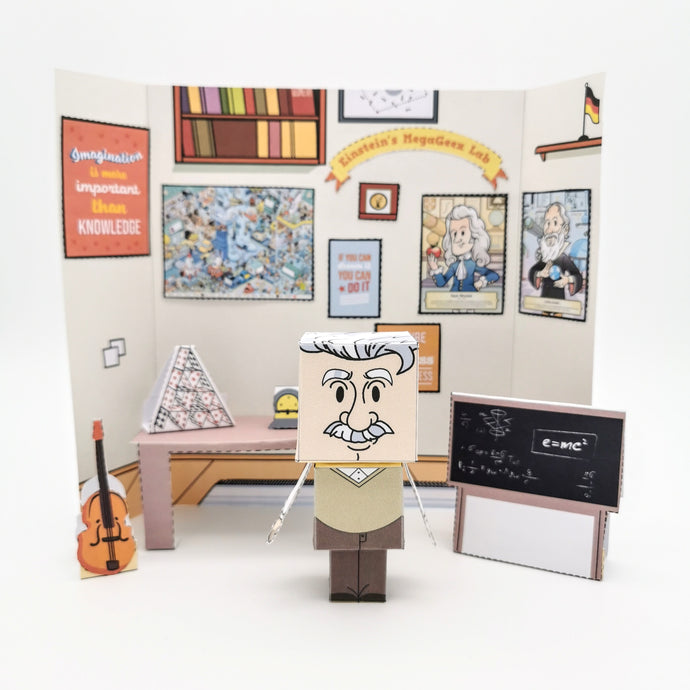 Albert Einstein 3D DIY Creativity Kit