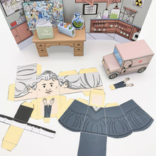 Load image into Gallery viewer, Marie Curie's 3D DIY Creativity Set {printable}