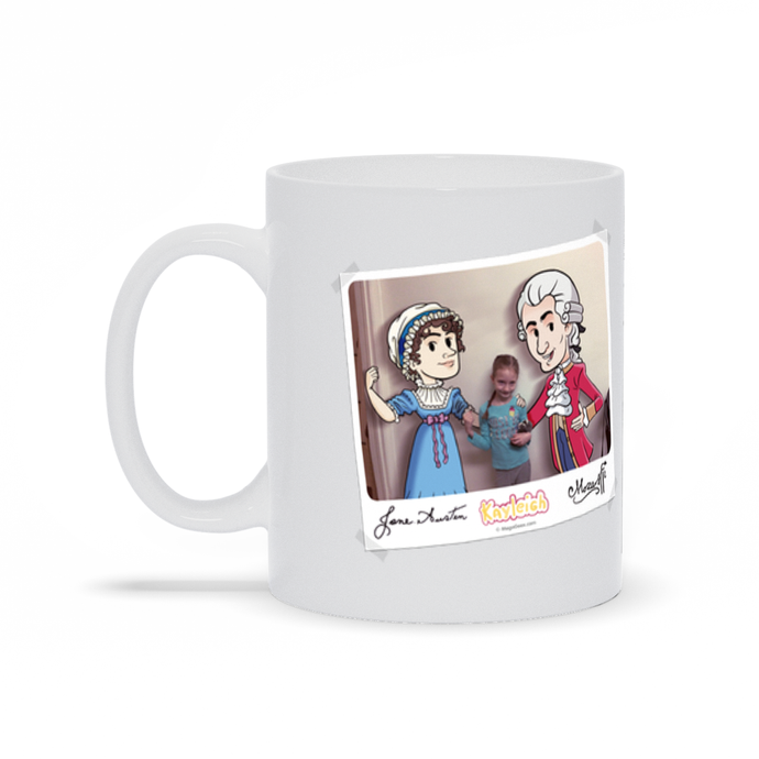 MegaGeex Photo-Booth Personalized Mug