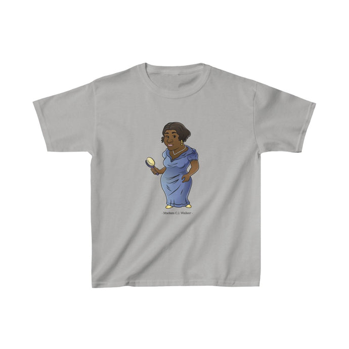 Madam C.J Walker Tshirt for Kids