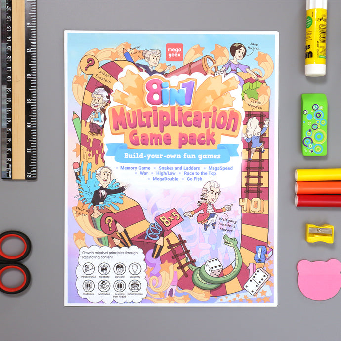 8-in-1 Multiplication Game Pack {hard copy}