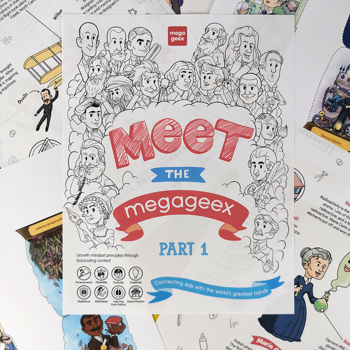 Meet the MegaGeex Activity Book {hard copy}