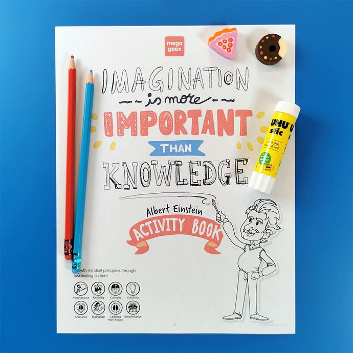 Albert Einstein's Activity Book (Hard copy version)