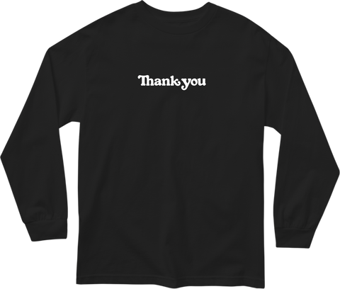 Thank You Center L/S Tee