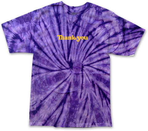 Thank You Center Tie Dye S/S Tee