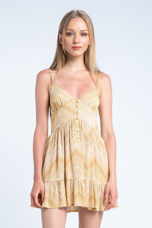 Golden Sun Dress