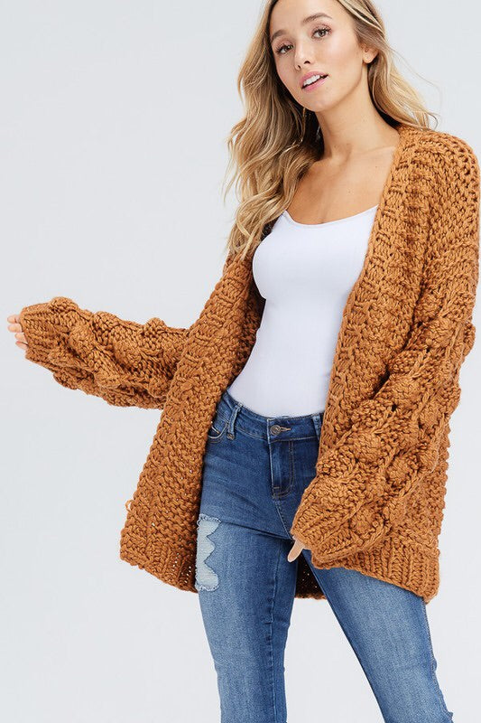 Pom Sweater Rust