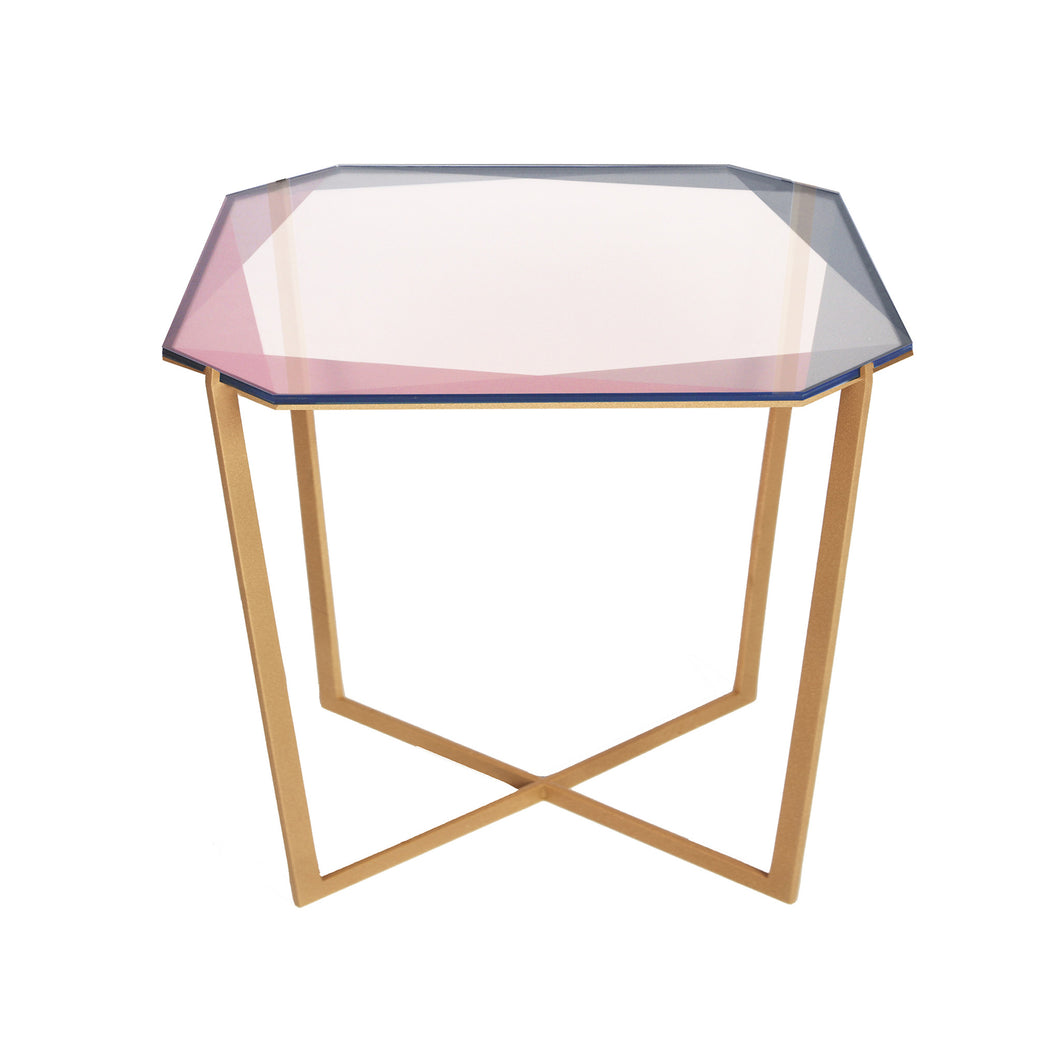 JUST ADDED! Gem Square Dining Table / Blush