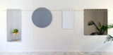 Sale #17 - Sewn Surfaces Mirror / Round