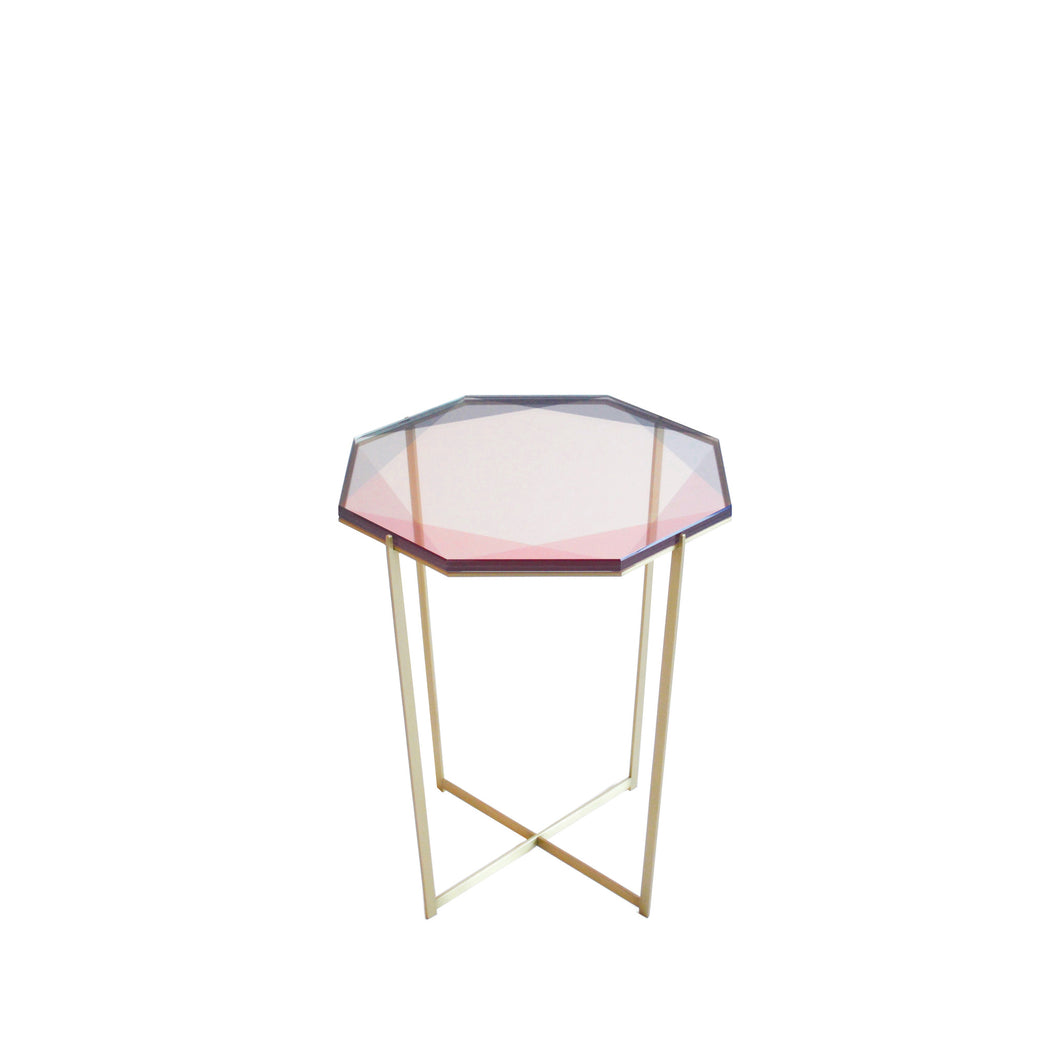 Gem Side Table : Blush