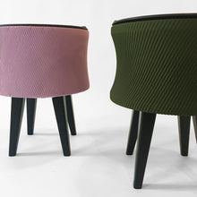 Sale #31 - Pleated Stool / Olive