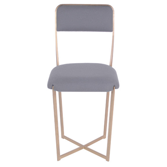 Prong Chair : Brass
