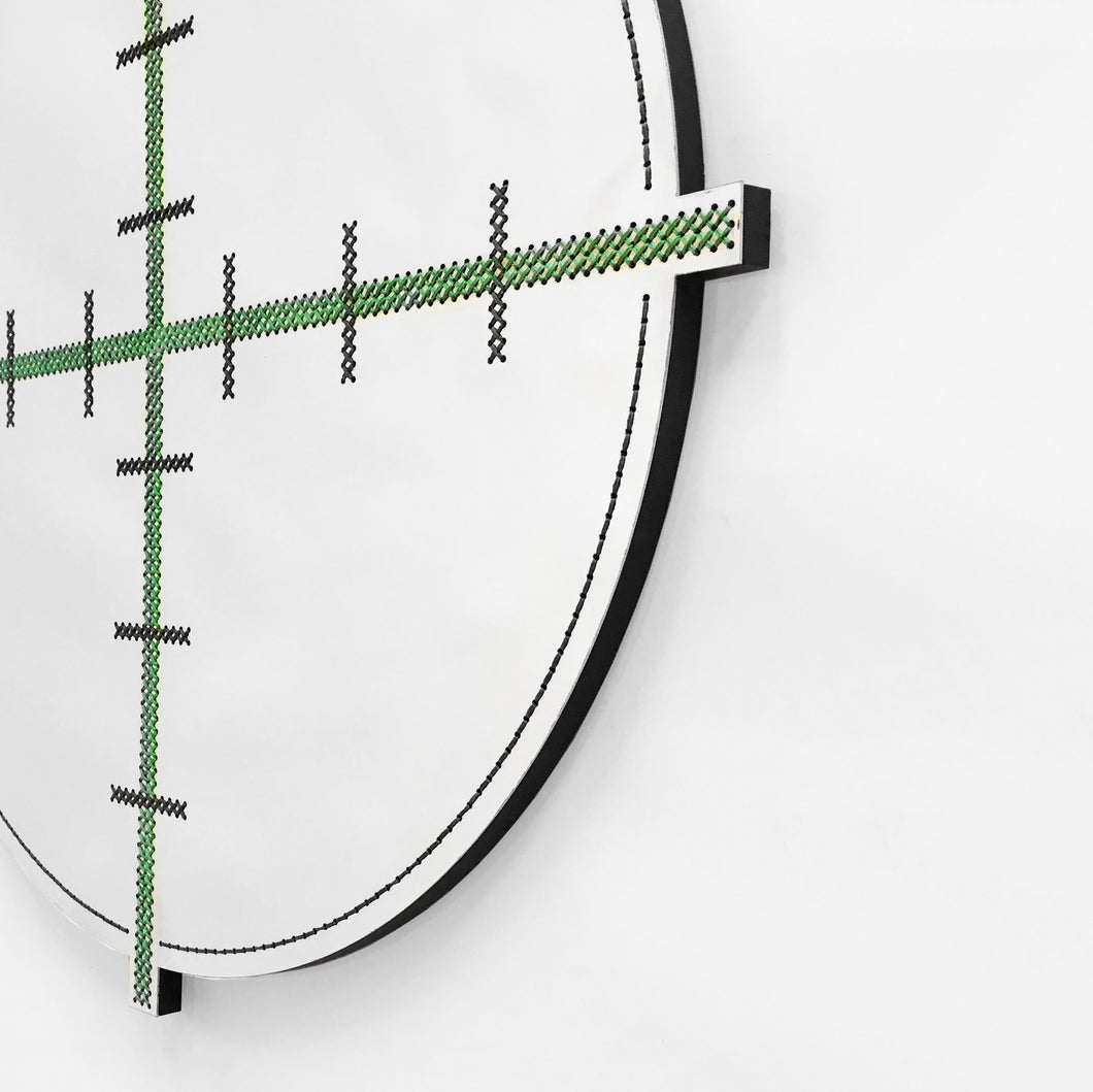 Sale #29 - Sight Mirror / Green
