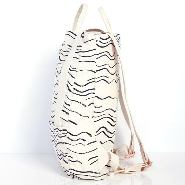 Wave Backpack - Natural