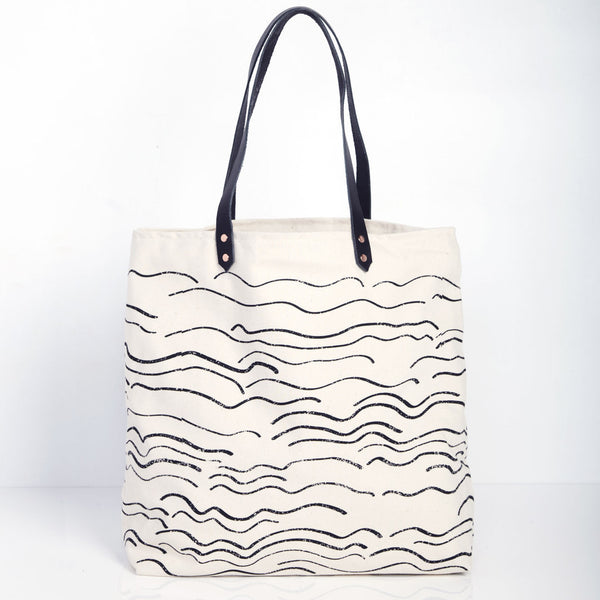 Wave Carryall Tote - Natural
