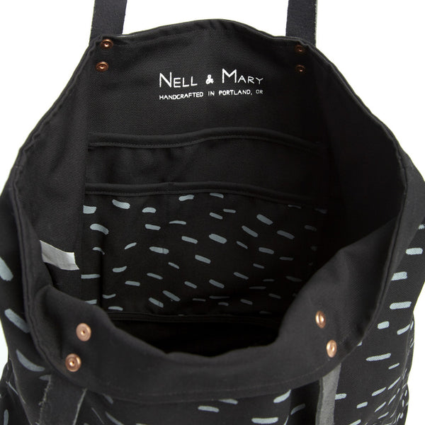 Sideways Rain Carryall - Black