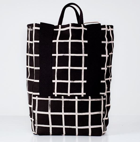 Brush Grid Backpack
