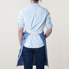 Swerves Kitchen Apron - Indigo