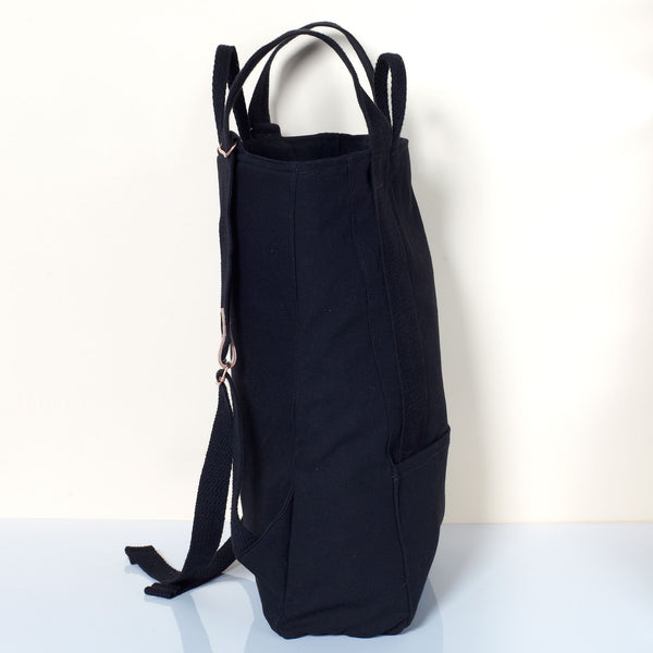 Unprinted Backpack - Black