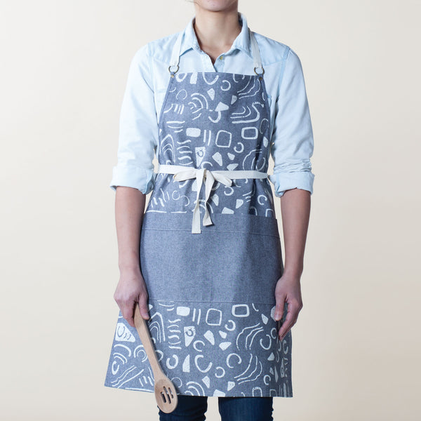 Swerves Kitchen Apron - Gray