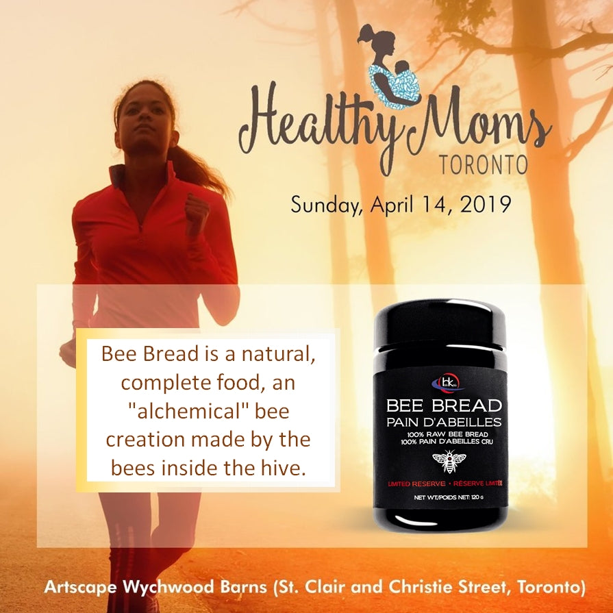 Bee Bread - Healthy Moms 2019