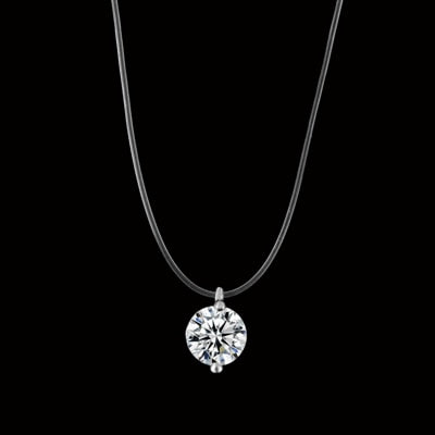 Crystal Meteorite Necklace