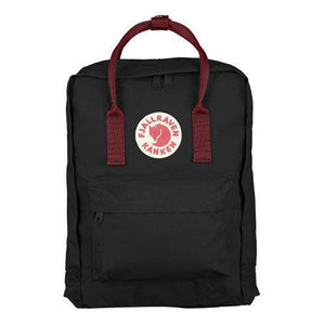7/16/20L Backpack Black / Deep Red