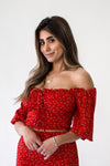 Amelia Off Shoulder Crop - Appelov