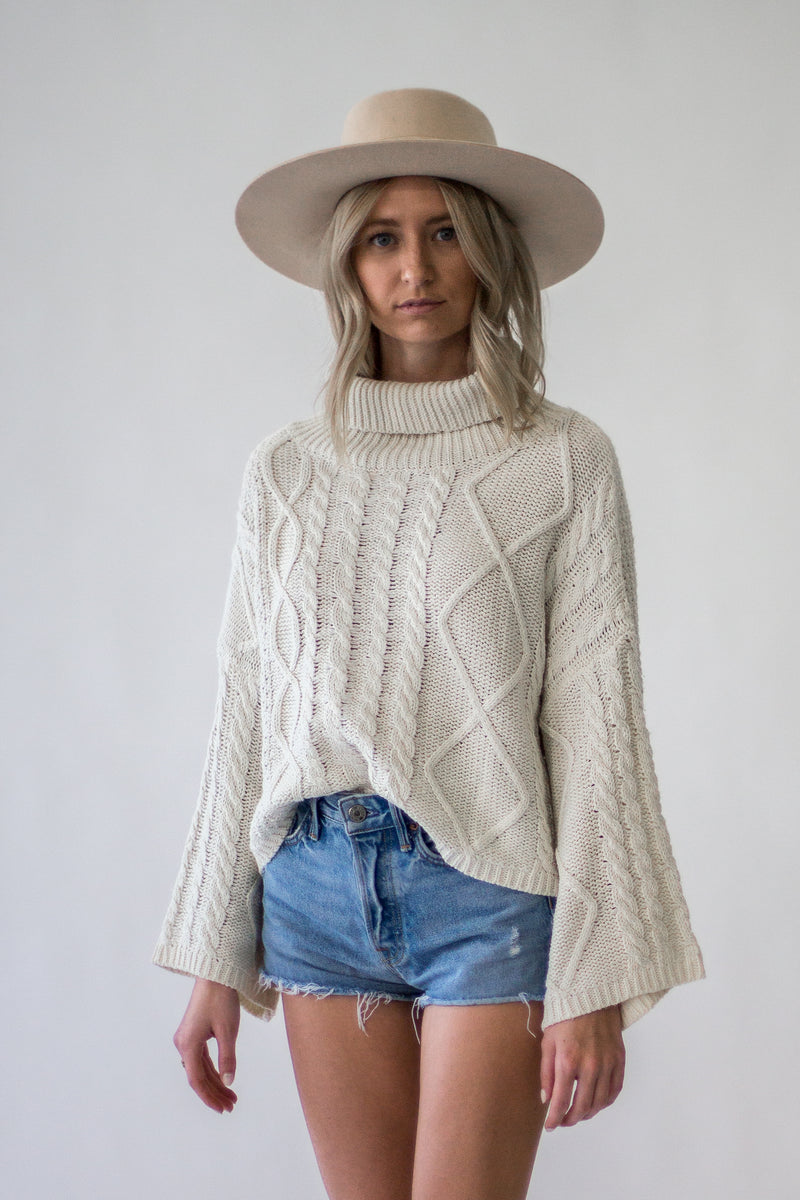 Avery Cropped Sweater - Appelov