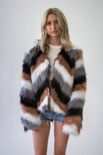 Aspen Is Calling Faux Fur Coat - Appelov