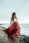 Colombian Sunsets Maxi Skirt - Appelov