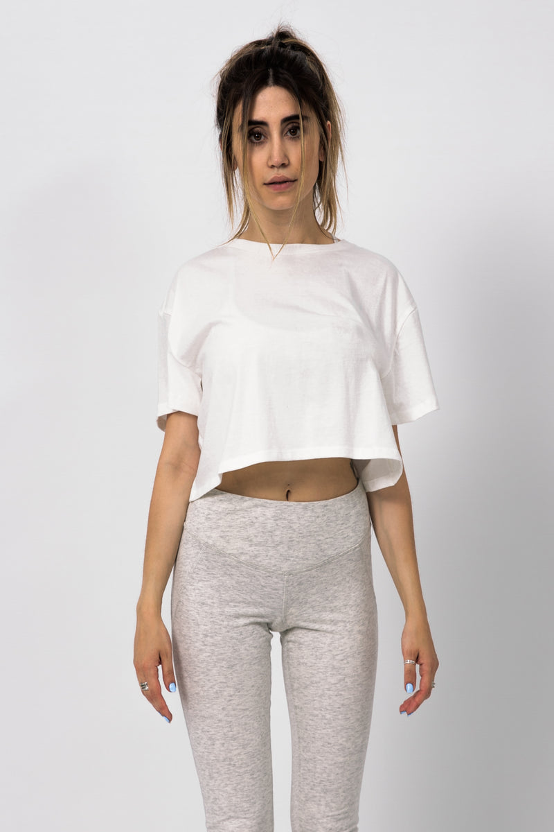 Everyday Crop Tee - Appelov