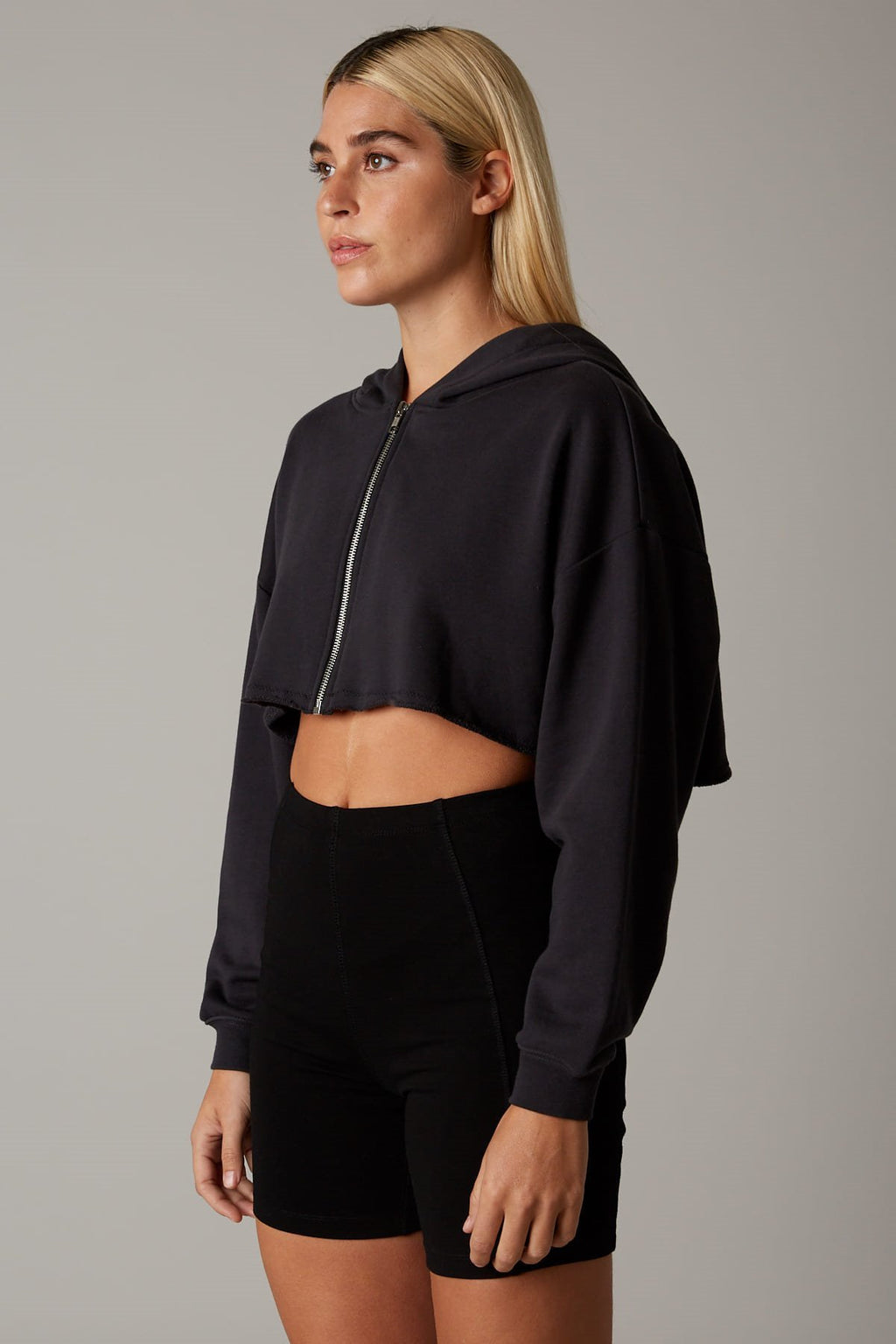 Vintage Cropped Zip-Up - Appelov