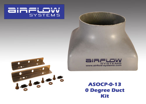 ASOCP-0-13 (0 degree) Oil Cooler Plenum (With Plenum Mounting Kit)